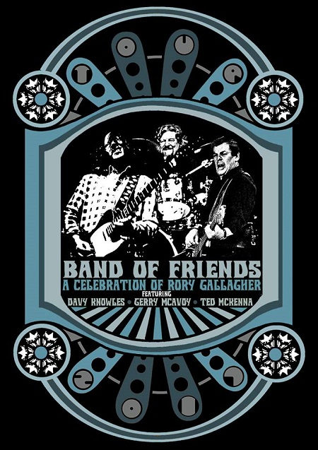 Davy Knowles to Celebrate Rory Gallagher w/ Band of Friends 2018 Tour/Tickets/Dates