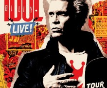 Billy Idol 2018 Tour (UK/European) Dates, Tickets