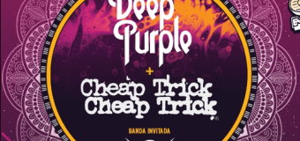 Deep Purple 2017 Tour w/ Cheap Trick, Tesla, South America, Brazil, Chile, Argentina