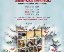 Gorillaz Pop-Up Store London G foot Christmas Emporium, Directions, Dates, Times