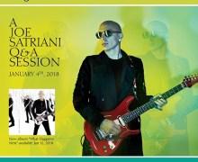 Chance to Meet Joe Satriani – 107.7 The Bone Contest