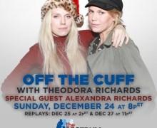 SiriusXM: Theodora Richards w/ Sister Alexandra – Keith