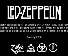 Led Zeppelin: Official Illustrated Book Coming in 2018