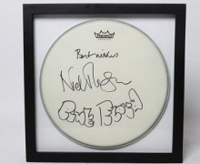 Charity Auction: Pink Floyd, Iron Maiden, Foo Fighters Drum Items