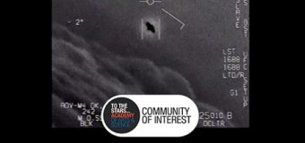 "Tom DeLonge, ""first ever footage of UAPs"" (Unidentified Aerial Phenomena)"