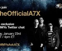 Avenged Sevenfold Twitter Chat Grammys