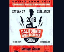 Joe Bonamassa: California World Guitar Show 2018 Costa Mesa, CA