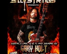 Gary Holt Guitar Clinic @ Silly Strings in Petaluma – Exodus/Slayer Guitarist