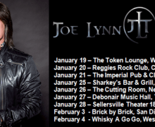 Joe Lynn Turner:  Tour 2018 U.S. Dates/Tickets/Schedule/Band – Chicago, Granite City, Liverpool, New York, Teaneck, Sellersville, San Diego