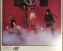 """Nikki Sixx, """"Motley Crue 8X10 promo shot pre-record deal."""" 1982 Demo """"Run for Your Life"""""""