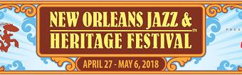 New Orleans Jazz & Heritage Festival 2018 Lineup w/ Aerosmith, Jack White, Beck, Sting, Jack Johnson, Cage the Elephant, George Benson, Smokey Robinson