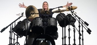 Nicko McBrain's Drum One Store, Manchester, Astra Business Park – Iron Maiden Somewhere in Time Kit