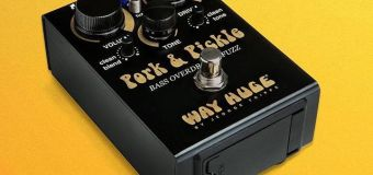 Pork & Pickle Bass Overdrive & Fuzz Pedal NAMM 2018 Jim Dunlop Booth