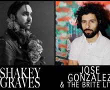 Shaky Graves & Jose Gonzalez 2018 Tour – Dates/Tickets
