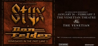 Styx & Don Felder Las Vegas Residency – Eagles