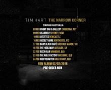 Boy & Bear's Tim Hart New Album + 2018 Tour – Tickets/Dates – The Narrow Corner