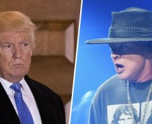 "Axl Rose, ""The White House is the current US gold standard of what can be considered disgraceful."""