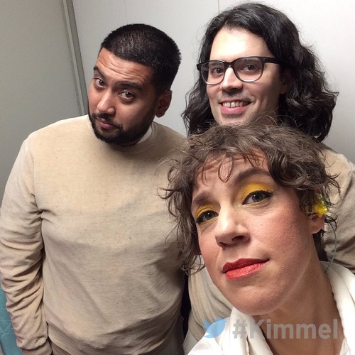 Tune-Yards on Kimmel - Jimmy Kimmel Live