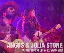 "Angus & Julia Stone on Carson Daly – Last Call – Watch ""Chateau"" Performance @ The Fonda Theatre"