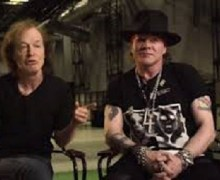 "AC/DC Biographer:  ""AC/DC Will Continue with Axl (Rose) on Vocals"""