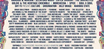 Boomtown Festival 2018 Winchester w/ Ben Harper, Gorillaz, Morcheeba, Fishbone, Soulfly, Napalm Death