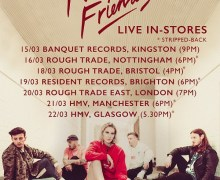 Fickle Friends Live In-Store Schedule Announced – Kingston, Nottingham, Bristol, Brighton, London, Manchester, Glasgow
