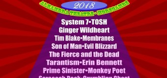 Hawkwind:  HawkEaster 2018 Lineup Announced-Tickets/Info Ginger Wildheart, System 7, TOSH