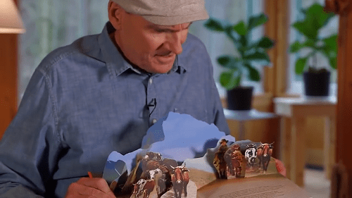James Taylor 'Sweet Baby James' Pop-Up Book 2018