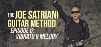 Joe Satriani Guitar Lesson Vibrato & Melody