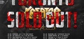 Sabaton/Kreator 2018 Tour Toronto SOLD OUT – Denver, Chicago, Madison, Boston, Philadelphia, Tampa