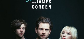 Lo Moon: James Corden – The Late Late Show