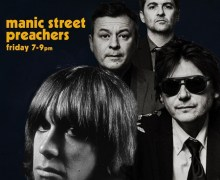 Manic Street Preachers: BBC Radio 6 Music/Iggy Pop w/ Nicky  & James