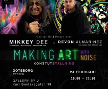 Mikkey Dee Art Exhibit in Goteborg Sweden Announced – Motörhead, Scorpions, King Diamond