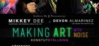 Mikkey Dee Art Exhibit in Goteborg Sweden Announced – Motörhead, Scorpions, King Diamond