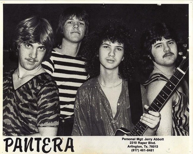 """Terry Glaze on Pantera's Early Songwriting Process, """"It was a great team effort."""""""
