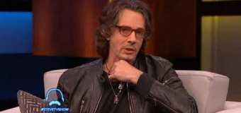 """Rick Springfield on the Steve Harvey TV Show, """"There's a lot of dark stuff on this record"""" – The Snake King"""