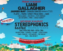 Rize Festival 2018 Lineup/Tickets – Liam Gallagher, Years & Years, Rita Ora, Manic City Preachers, James Bay, Craig David