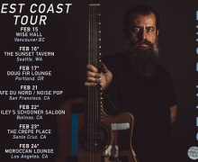 Sean Rowe w/ Anna Tivel 2018 Tickets/Tour Los Angeles, San Francisco, Santa Cruz, Seattle