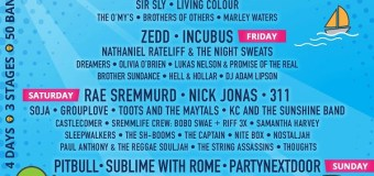 Sunfest 2018 Lineup Announced-Schedule-West Palm Beach-Tickets Billy Idol, Incubus, Cake, Living Colour