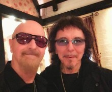 Tony Iommi with Rob Halford – Black Sabbath/Judas Priest