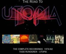 Todd Rundgren's Utopia Box Set 'Complete Recordings'  7 CD
