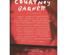 Courtney Barnett w/ Waxahatchee 2018 Tour Announced (US/Canada) – Denver, Phoenix, San Diego, Los Angeles, Seattle, Vancouver, Portland, Milwaukee, Boston