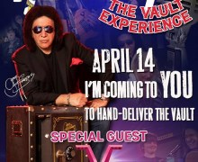 Vinnie Vincent to Join Gene Simmons in Nashville – The Vault Experience
