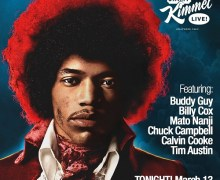 Buddy Guy on Jimmy Kimmel Live 2018 – Jimi Hendrix, Billy Cox, Mato Nanji, Chuck Campbell, Calvin Cooke, Tim Austin