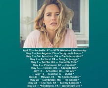 Lissie 2018 Tour US/Canada – Los Angeles, San Francisco, Portland, Seattle, Vancouver, Dallas