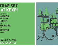 Matt Cameron on 'The Trap Set' Live @ KEXP