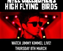 Noel Gallagher – Jimmy Kimmel Live 2018