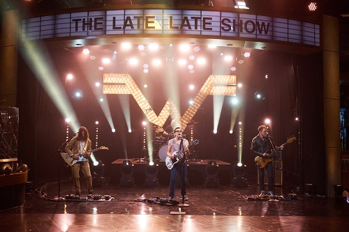 """Weezer on James Corden - The Late Late Show - """"Mexican Fender"""""""