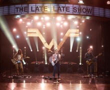 "Weezer on James Corden – The Late Late Show – ""Mexican Fender"""