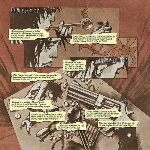 "Nikki Sixx, ""Heroin Diaries Graphic Novel – It's here ..."